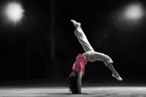 gymnastics, Selective coloring