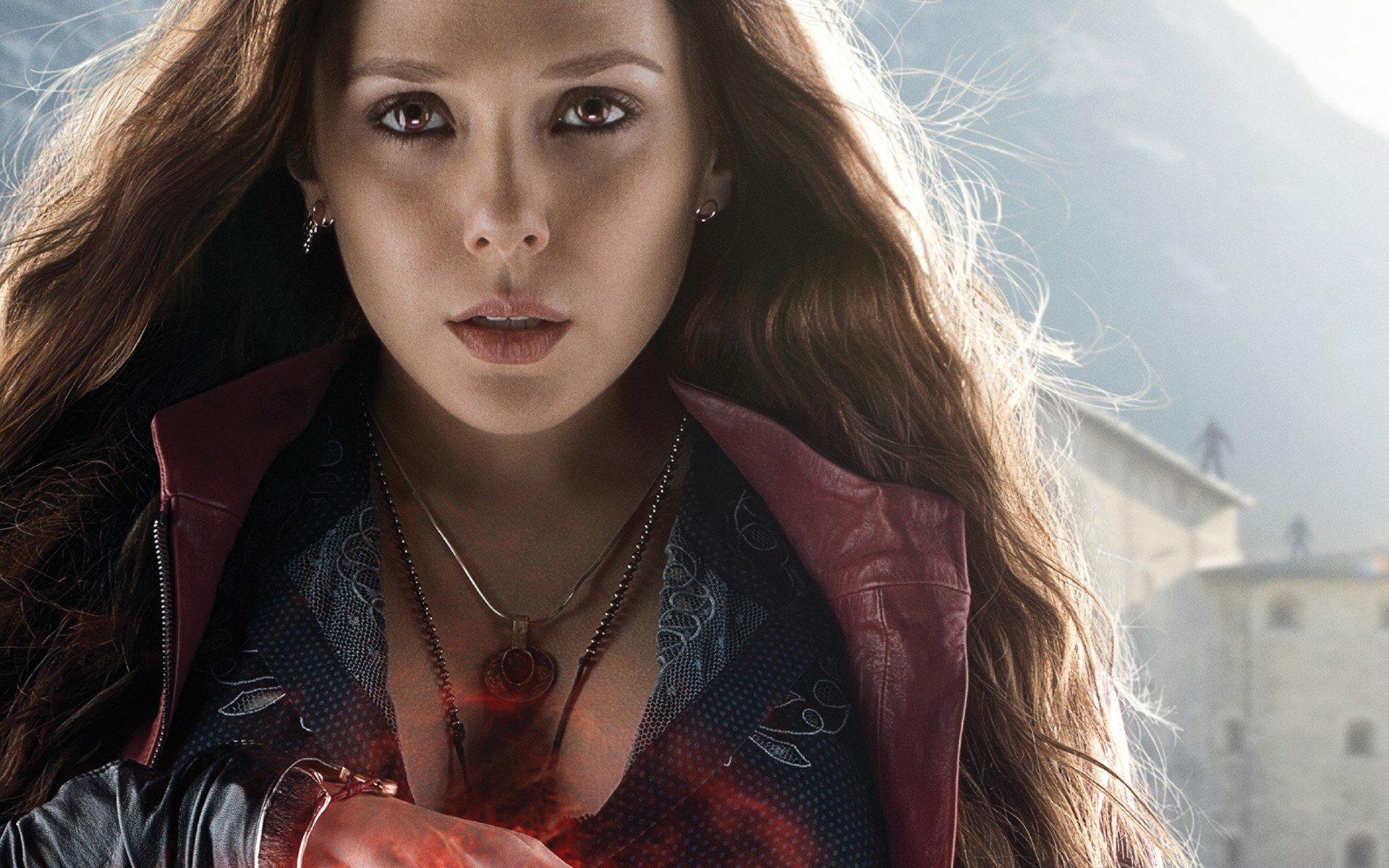 Avengers Age Of Ultron Elizabeth Olsen Scarlet Witch Hd
