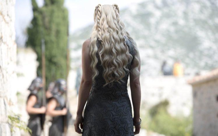Game of Thrones, Daenerys Targaryen, Emilia Clarke, Women, Blonde HD Wallpaper Desktop Background