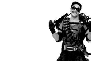 Watchmen, The Comedian, Machine gun