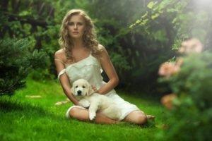 blonde, Women outdoors