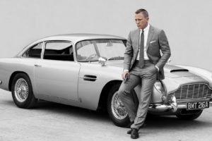 007, James Bond, Aston Martin, Aston Martin DB5, Daniel Craig