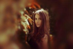 model, Brunette