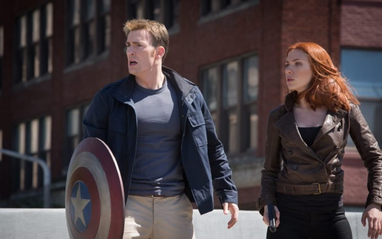 Captain America The Winter Soldier Scarlett Johansson