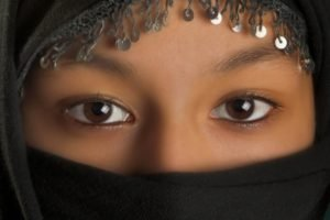 eyes, Brown eyes, Veils