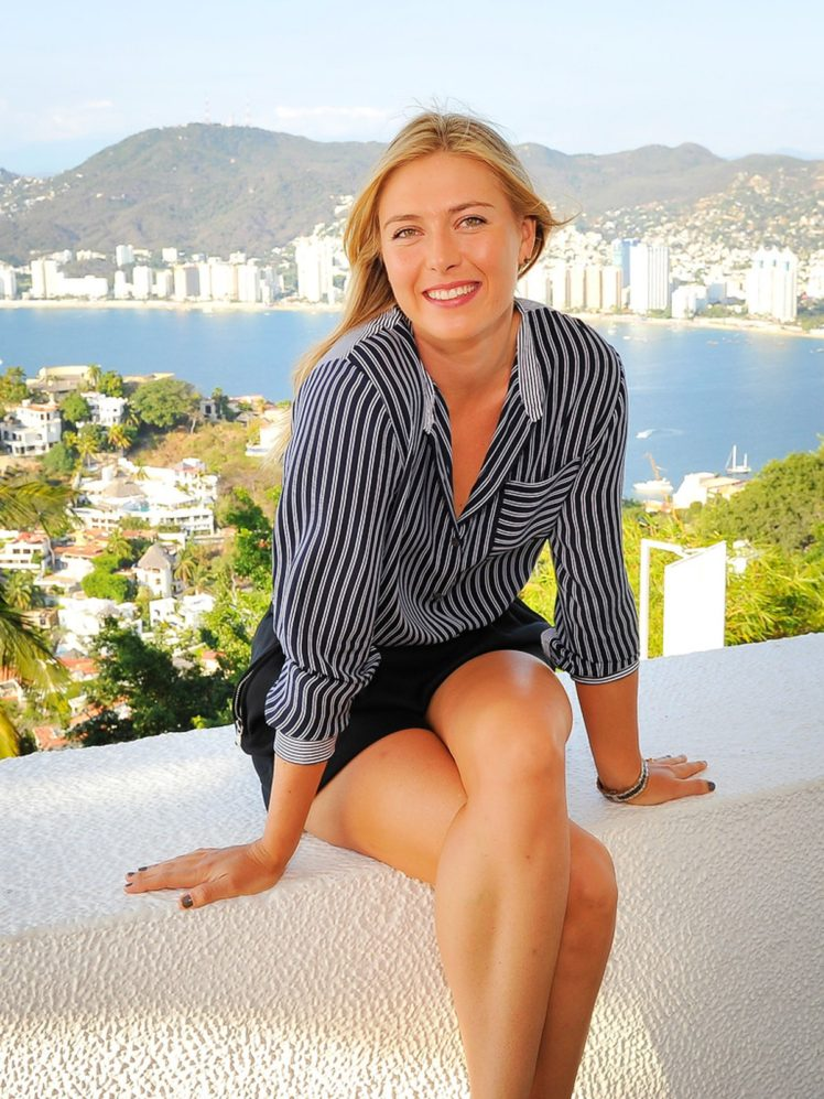 Maria Sharapova, Blonde, Women, Athletes, Smiling HD Wallpaper Desktop Background
