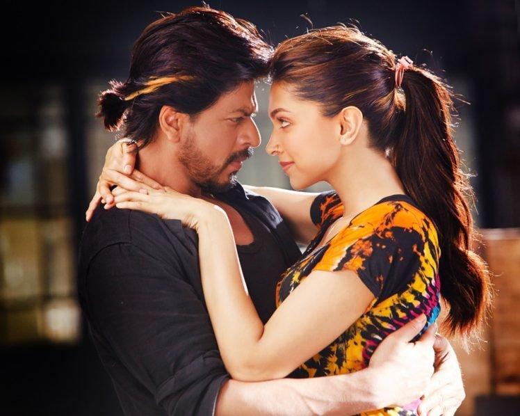 Shah Rukh Khan, Deepika Padukone, Bollywood HD Wallpaper Desktop Background