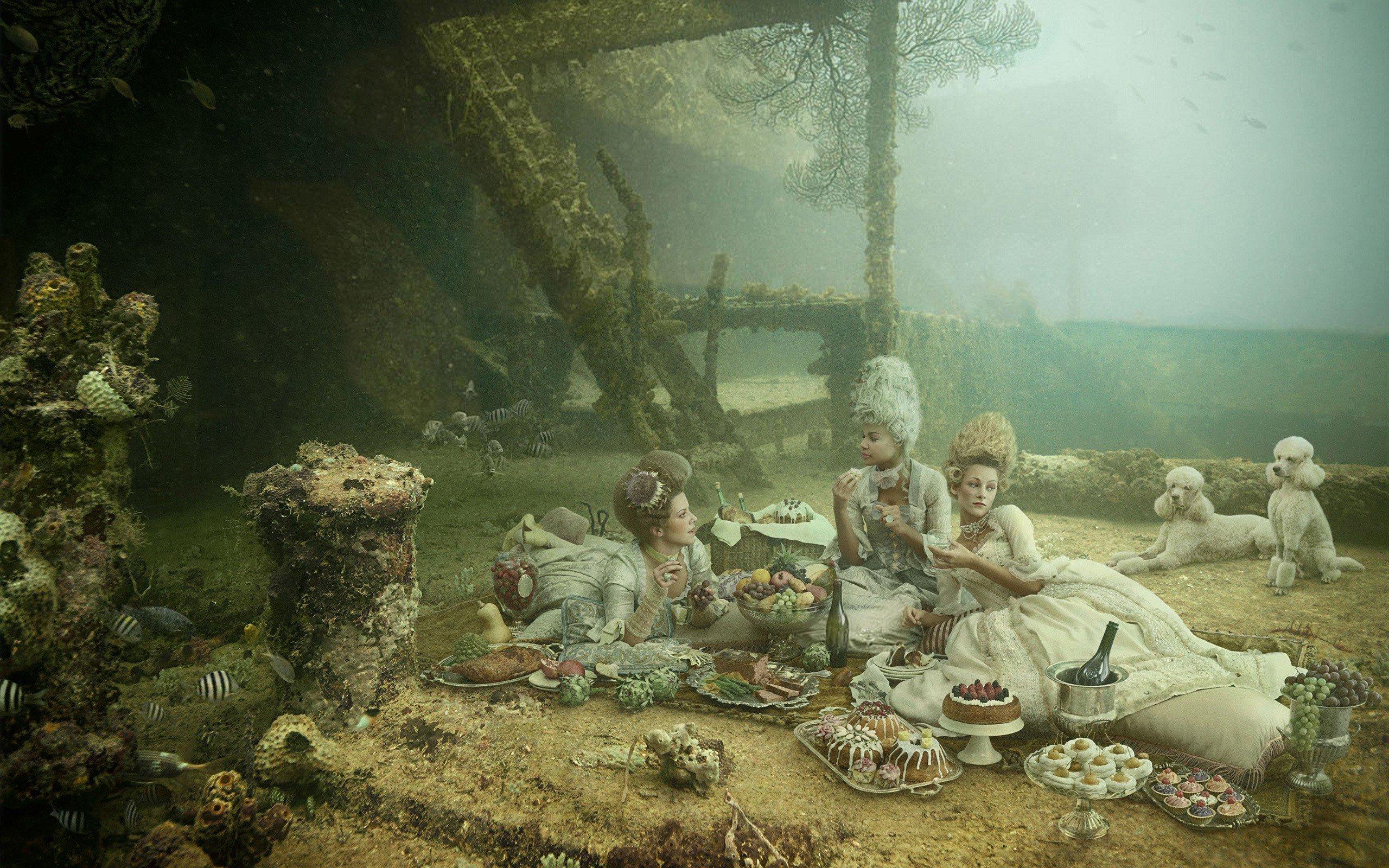 women, Digital art Wallpaper