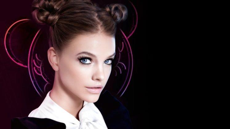 Barbara Palvin, Women, Model, Face, Blue eyes HD Wallpaper Desktop Background