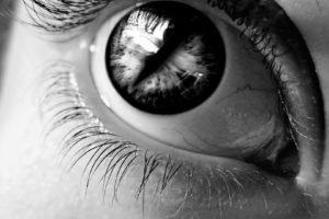women, Eyes, Monochrome, Eyelashes