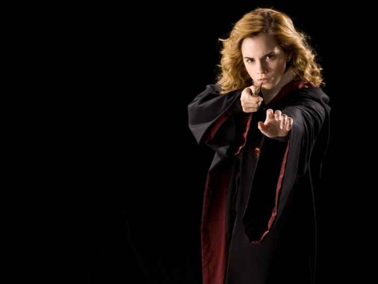 women, Emma Watson, Hermione Granger, Actress, Harry Potter, Movies, Wizard HD Wallpaper Desktop Background