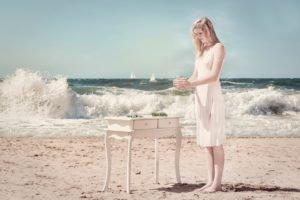 beach, Women, Model