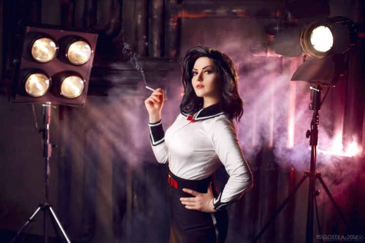 BioShock Infinite: Burial at Sea, BioShock, BioShock Infinite, Cosplay, Video games, Elizabeth (BioShock) HD Wallpaper Desktop Background
