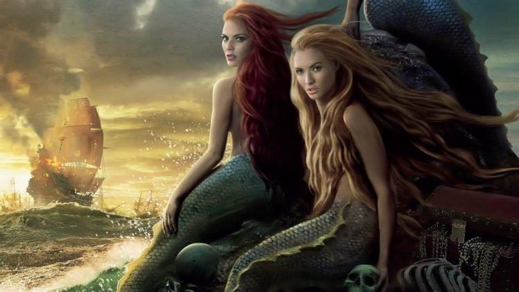 Pirates of the Caribbean, Mermaids HD Wallpaper Desktop Background