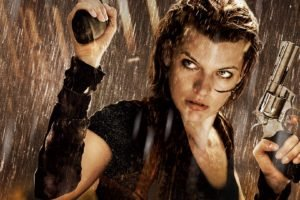 Milla Jovovich, Gun, Movies, Women