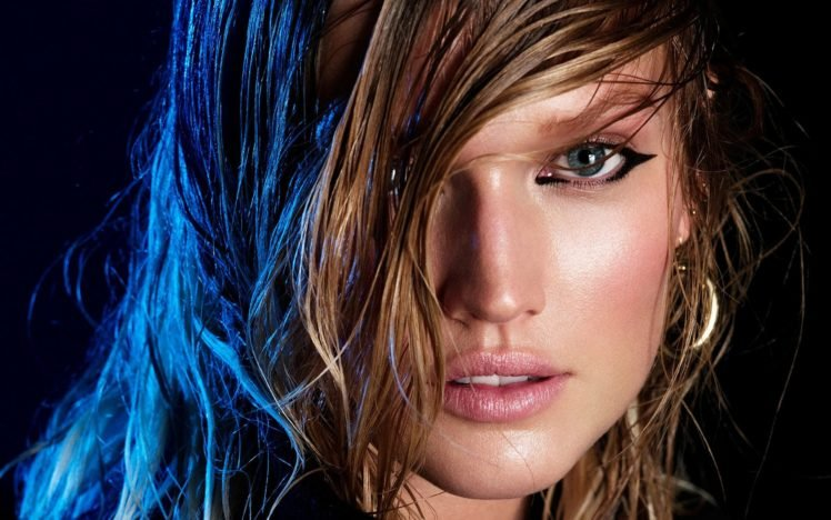 blue eyes, Green eyes, Blonde, Long hair, Lips, Women, Toni Garrn HD Wallpaper Desktop Background