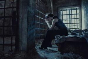 model, Women, Prisons, Jail, Window, Gates