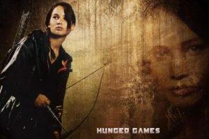 women, Jennifer Lawrence, The Hunger Games, Katniss Everdeen