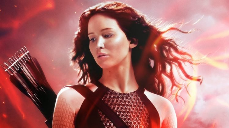 Women jennifer lawrence the hunger games katniss everdeen hd women jennifer lawrence the hunger games katniss everdeen hd wallpaper desktop background voltagebd Choice Image