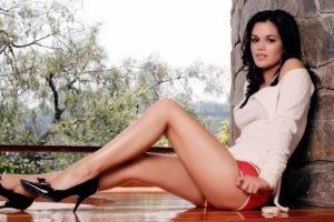 women, Rachel Bilson, Dark hair, Legs, High heels
