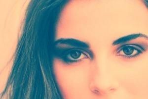 model, Eyes, Women