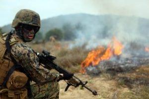 blank firing adapter, Military, Marines, M16 A4, M16
