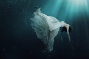 women, Underwater