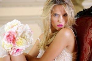 women, Model, Blonde, Luisana Lopilato