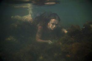 underwater, Swimming, Women