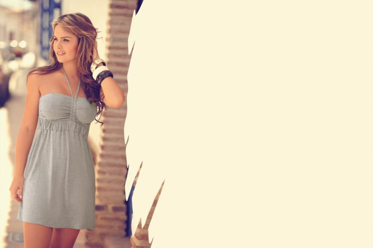 Melissa Giraldo, Model, Dress HD Wallpaper Desktop Background
