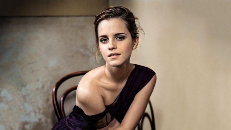 Emma Watson, Women, Brunette, Actress HD Wallpaper Desktop Background