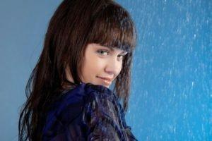 rain, Women, Brunette