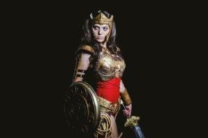 women, Sword, Wonder Woman