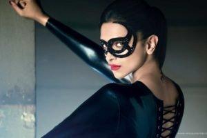 women, Deepika Padukone, Venetian masks