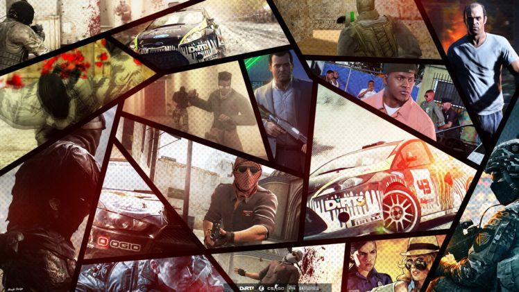video games HD Wallpaper Desktop Background