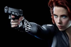 Scarlett Johansson, Black Widow, The Avengers