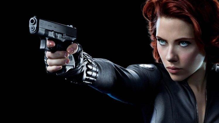 Scarlett Johansson Black Widow The Avengers Hd Wallpapers
