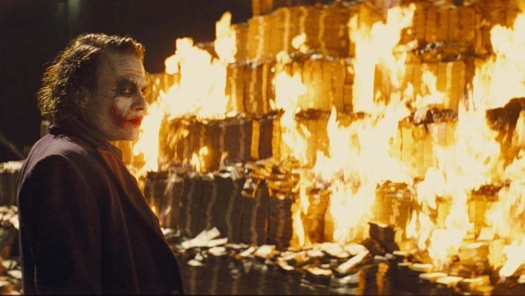 Heath Ledger, Joker, The Dark Knight HD Wallpaper Desktop Background