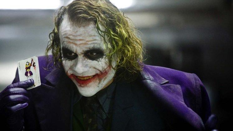 Joker, Heath Ledger, The Dark Knight HD Wallpaper Desktop Background