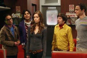 The Big Bang Theory, Summer Glau, Raj Koothrappali, Sheldon Cooper, Leonard Hofstadter, Howard Wolowitz