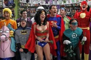 The Big Bang Theory, Sheldon Cooper, Costumes, Raj Koothrappali, Leonard Hofstadter, Howard Wolowitz, Penny, Kaley Cuoco