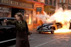 Captain America: The First Avenger, Peggy Carter, Explosion