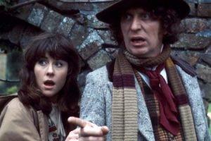 Doctor Who, Tom Baker, Elisabeth Sladen