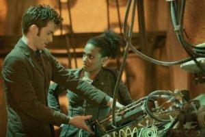 Doctor Who, Freema Agyeman, Tenth Doctor, David Tennant, TARDIS