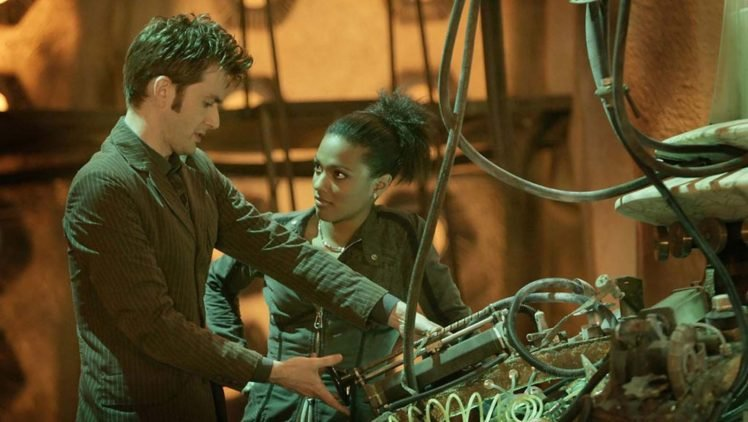 doctor who freema agyeman tenth doctor david tennant