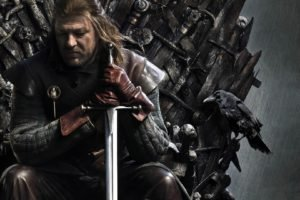 Game of Thrones, Ned Stark, Iron Throne