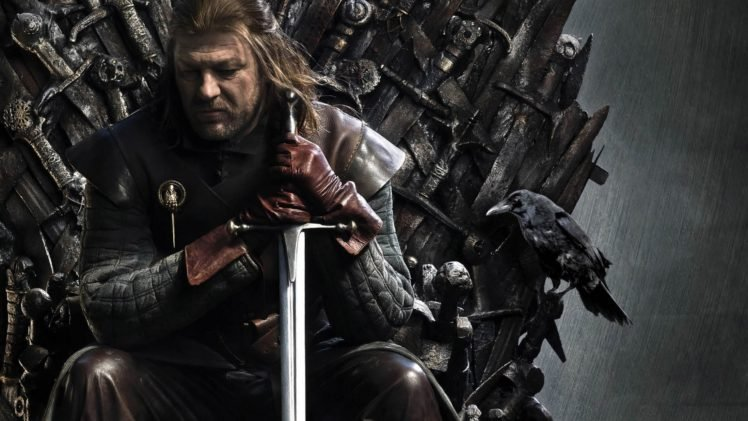 Game Of Thrones Ned Stark Iron Throne HD Wallpaper Desktop Background