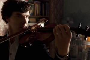 Benedict Cumberbatch, Sherlock, Actor, Men, Violin