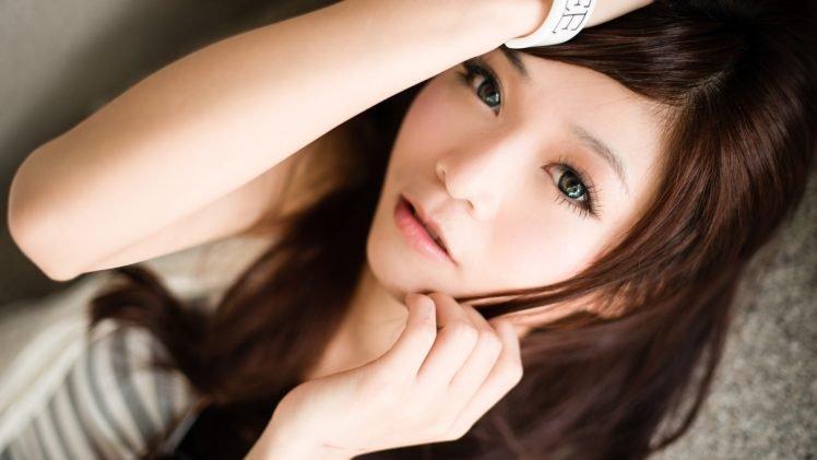 women, Asian, Face HD Wallpaper Desktop Background