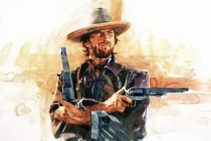 Clint Eastwood, Artwork, Movies